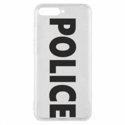 Чехол для Huawei Y6 2018 POLICE - FatLine