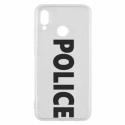 Чехол для Huawei P20 Lite POLICE - FatLine
