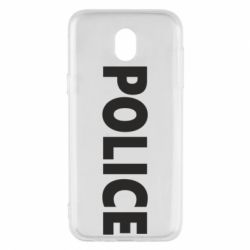 Чехол для Samsung J5 2017 POLICE