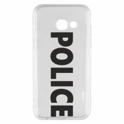 Чехол для Samsung A3 2017 POLICE