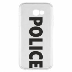 Чехол для Samsung A7 2017 POLICE