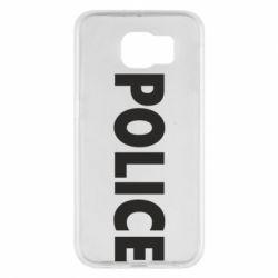 Чехол для Samsung S6 POLICE