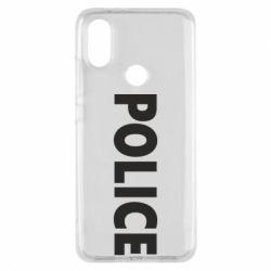 Чехол для Xiaomi Mi A2 POLICE - FatLine