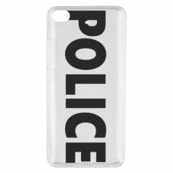 Чехол для Xiaomi Mi 5s POLICE - FatLine