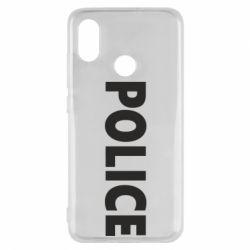 Чехол для Xiaomi Mi8 POLICE - FatLine