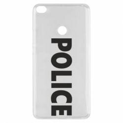Чехол для Xiaomi Mi Max 2 POLICE - FatLine
