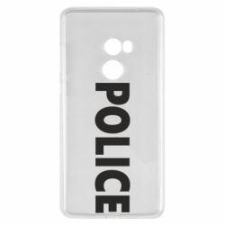Чехол для Xiaomi Mi Mix 2 POLICE - FatLine
