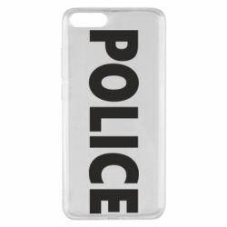 Чехол для Xiaomi Mi Note 3 POLICE - FatLine