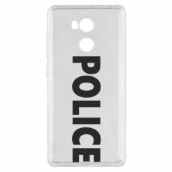 Чехол для Xiaomi Redmi 4 Pro/Prime POLICE - FatLine