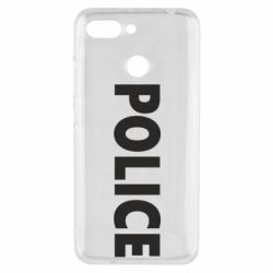 Чехол для Xiaomi Redmi 6 POLICE - FatLine