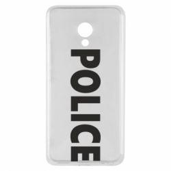 Чехол для Meizu M5 POLICE - FatLine