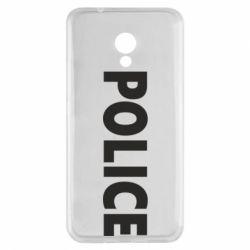 Чехол для Meizu M5s POLICE - FatLine