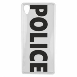 Чехол для Sony Xperia X POLICE - FatLine