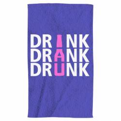Полотенце Drink Drank Drunk