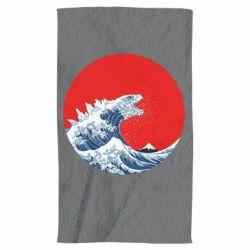 Рушник Godzilla Wave