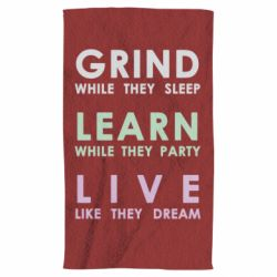 Рушник Grind Learn Live