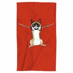 Полотенце Grumpy Cat On The Rope