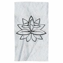 Рушник Lotus yoga