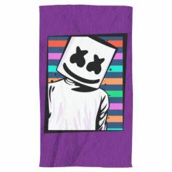 Полотенце Marshmello Colorful Portrait