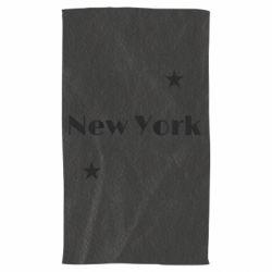 Полотенце New York and stars