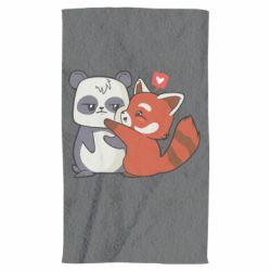 Рушник Panda and fire panda
