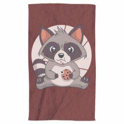 Рушник Raccoon with cookies