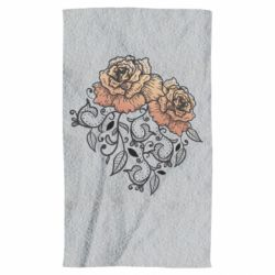 Рушник Roses with patterns