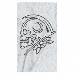 Рушник Skull with scythe