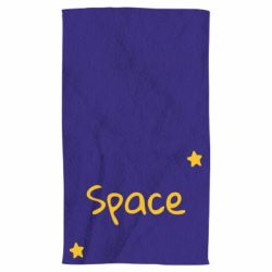 Рушник Space: Letters and Stars Print