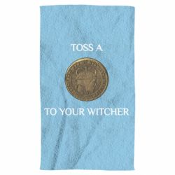 Рушник Toss a coin to your witcher ( орен )