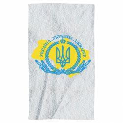 Рушник Україна Мапа