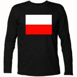 Футболка с длинным рукавом Польша - FatLine