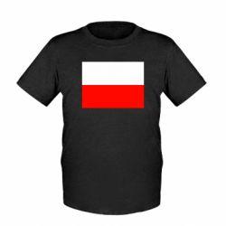 Детская футболка Польша - FatLine
