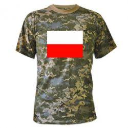 Камуфляжная футболка Польша - FatLine