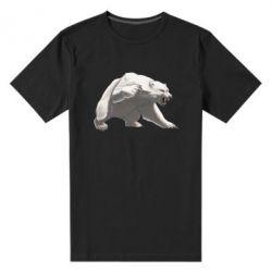 Чоловіча стрейчева футболка Полярний ведмідь