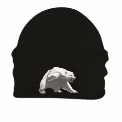 Шапка на флісі Полярний ведмідь