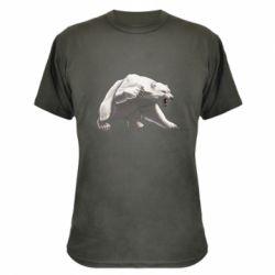 Камуфляжна футболка Полярний ведмідь