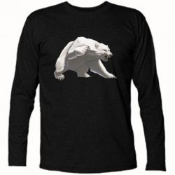 Футболка з довгим рукавом Полярний ведмідь