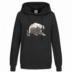 Толстовка жіноча Полярний ведмідь