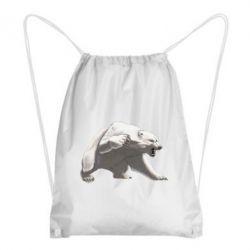 Рюкзак-мішок Полярний ведмідь