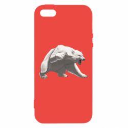 Чохол для iphone 5/5S/SE Полярний ведмідь