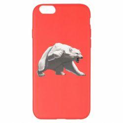 Чохол для iPhone 6 Plus/6S Plus Полярний ведмідь