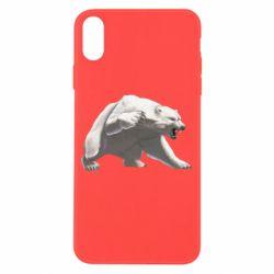 Чохол для iPhone X/Xs Полярний ведмідь