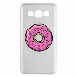 Чехол для Samsung A3 2015 Пончик Гомера