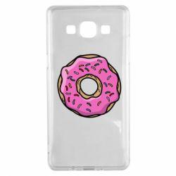 Чехол для Samsung A5 2015 Пончик Гомера