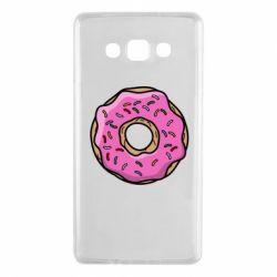 Чехол для Samsung A7 2015 Пончик Гомера