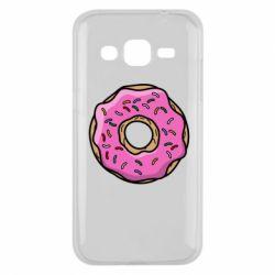 Чехол для Samsung J2 2015 Пончик Гомера