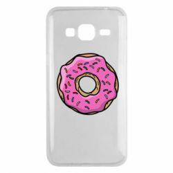 Чехол для Samsung J3 2016 Пончик Гомера