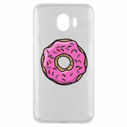 Чехол для Samsung J4 Пончик Гомера