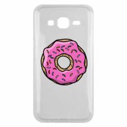 Чехол для Samsung J5 2015 Пончик Гомера
